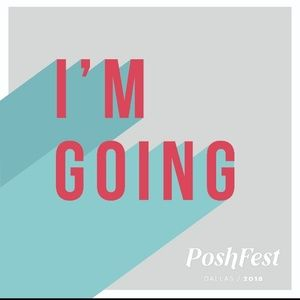 POSHFEST 2018!  WHO'S GOING? 💕